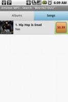 Pandora Internet Radio Buy Song Album Refers to Amazon MP3