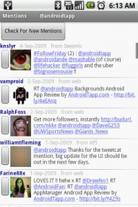 TweetCat Twitter Mentions