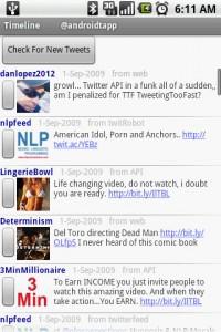 TweetCat Twitter Timeline
