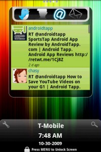 FlyScreen Twitter