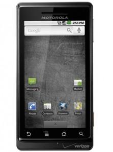Motorola Droid for Verizon - Front View