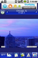 Weather Bug Cityscape Snapshot