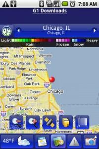 Weather Bug Map