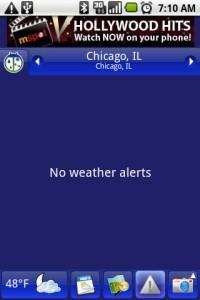 Weather Bug Weather Alerts
