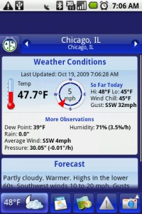 Weather Bug Weather Conditions and Forecasts