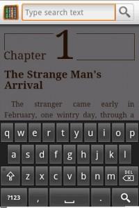 Aldiko Book Reader Text Search