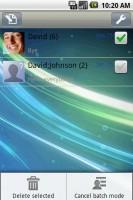Handcent SMS Batch Mode Main