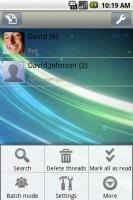 Handcent SMS Threads