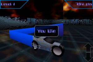 Light Racer 3D in Game Play 1
