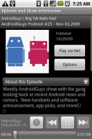 Mediafly Video Audio Podcasts - Playing Podcast