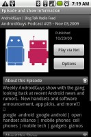 Mediafly Video Audio Podcasts - Podcast Details