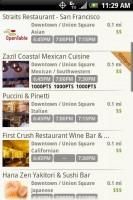 OpenTable Restaurants to Reserve