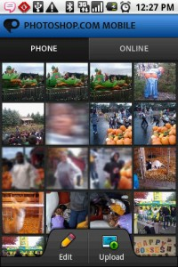 PhotoShop Mobile Phone Gallery