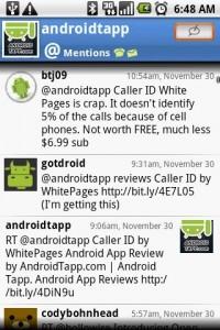 Swift App for Twitter Mentions
