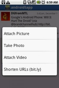 Swift App for Twitter Photo and Video Options