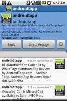 Swift App for Twitter Profiles