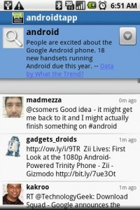 Swift App for Twitter Search Results
