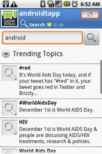 Swift App for Twitter Trending Topics