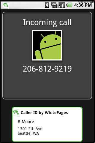 Caller ID by WhitePages