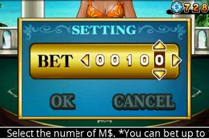 CB Blackjack Setting Bet Amount