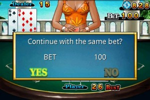 CB Blackjack in Game Play 4