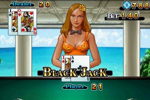 CB Blackjack in Game Play 6