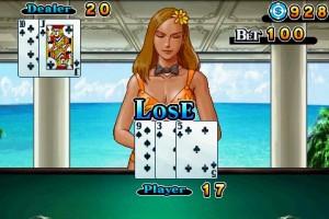 CB Blackjack in Game Play 7