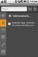 Dolphin Browser Bookmarks