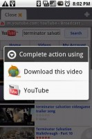 Dolphin Browser Download YouTube Video