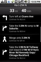 Google Maps Navigation Route Directions