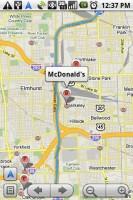 Google Maps Navigation Search Businesses along Route