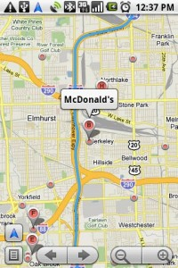 Google Maps Navigation Search Businesses along Route