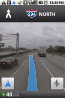 Google Maps Navigation with StreetView