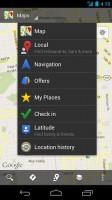 Google Maps Sharing Options
