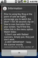 Key Ring Scanning Tips