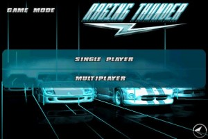 Raging Thunder Choose Player Mode