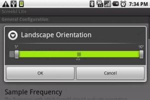 Screebl Set Landscape Orientation