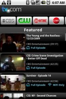 TV.com Featured TV Shows