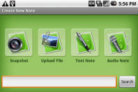 Top Android Market App Evernote Options