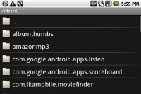 Top Android Market App Evernote Upload File
