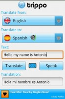 Trippo Mondo Voice Translator Spoken Translation
