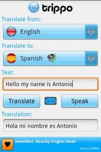 Trippo Mondo Voice Translator Spoken Translation