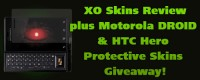 XO Skins Review, plus Motorola DROID & HTC Hero Protective Skins Giveaway!