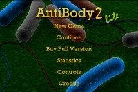 AntibodyGame Start Screen