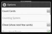 Blackjack Pro Options