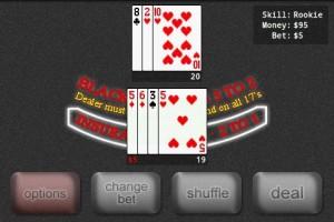 Blackjack Pro in Game Play 2