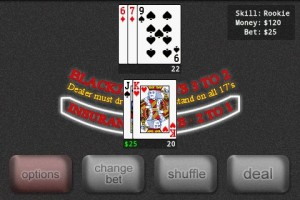 Blackjack Pro in Game Play 3