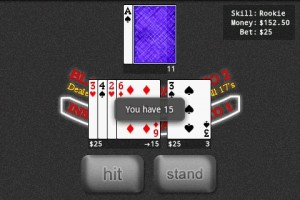 Blackjack Pro in Game Play 5