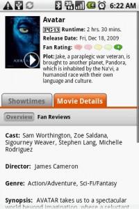 Fandango Movies Detail