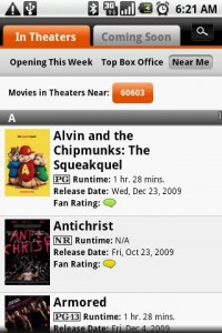 Fandango Movies Near Me